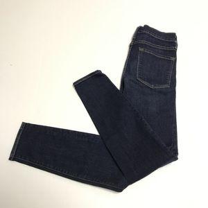 FRAME Blue Denim Le Skinny De Jeanne Jeans Pants